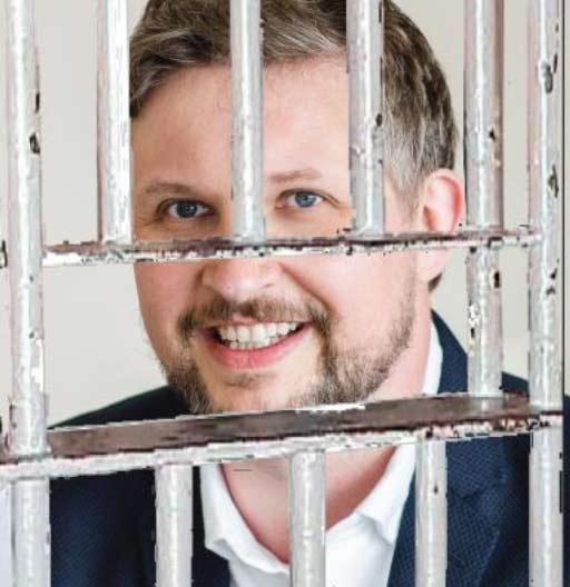 Mediator, Stuart Hanson, goes to prison